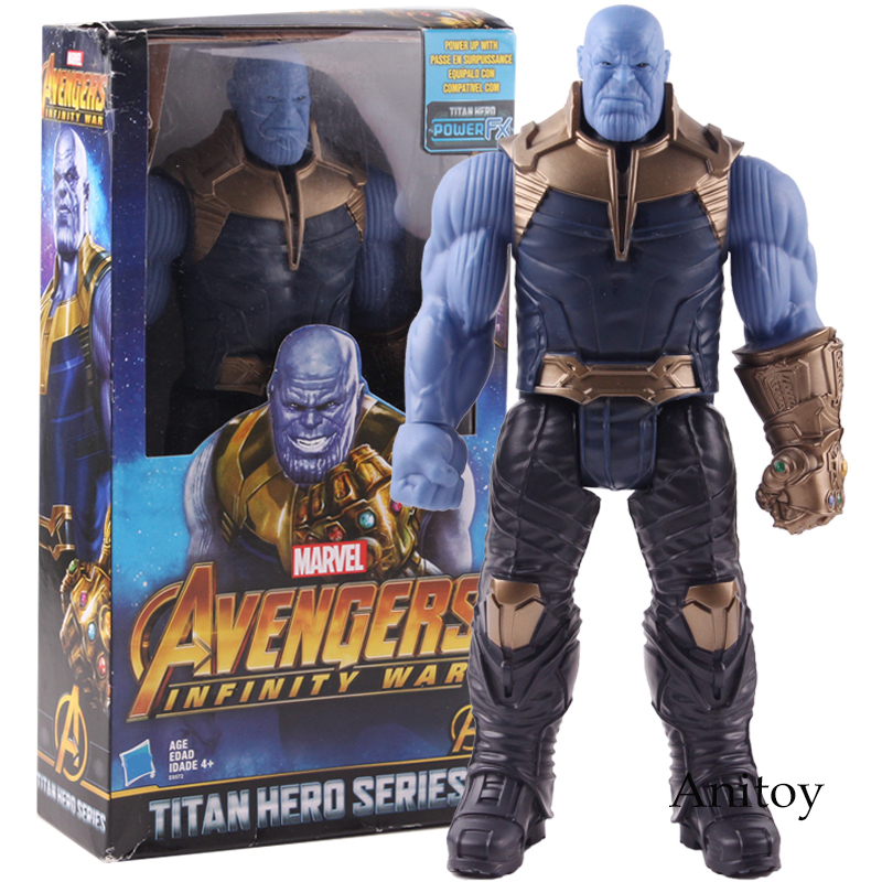 "7/"" Marvel Legends Avengers 3 Infinity War Hero Thanos Figures Gift Toy Xmas Gift"