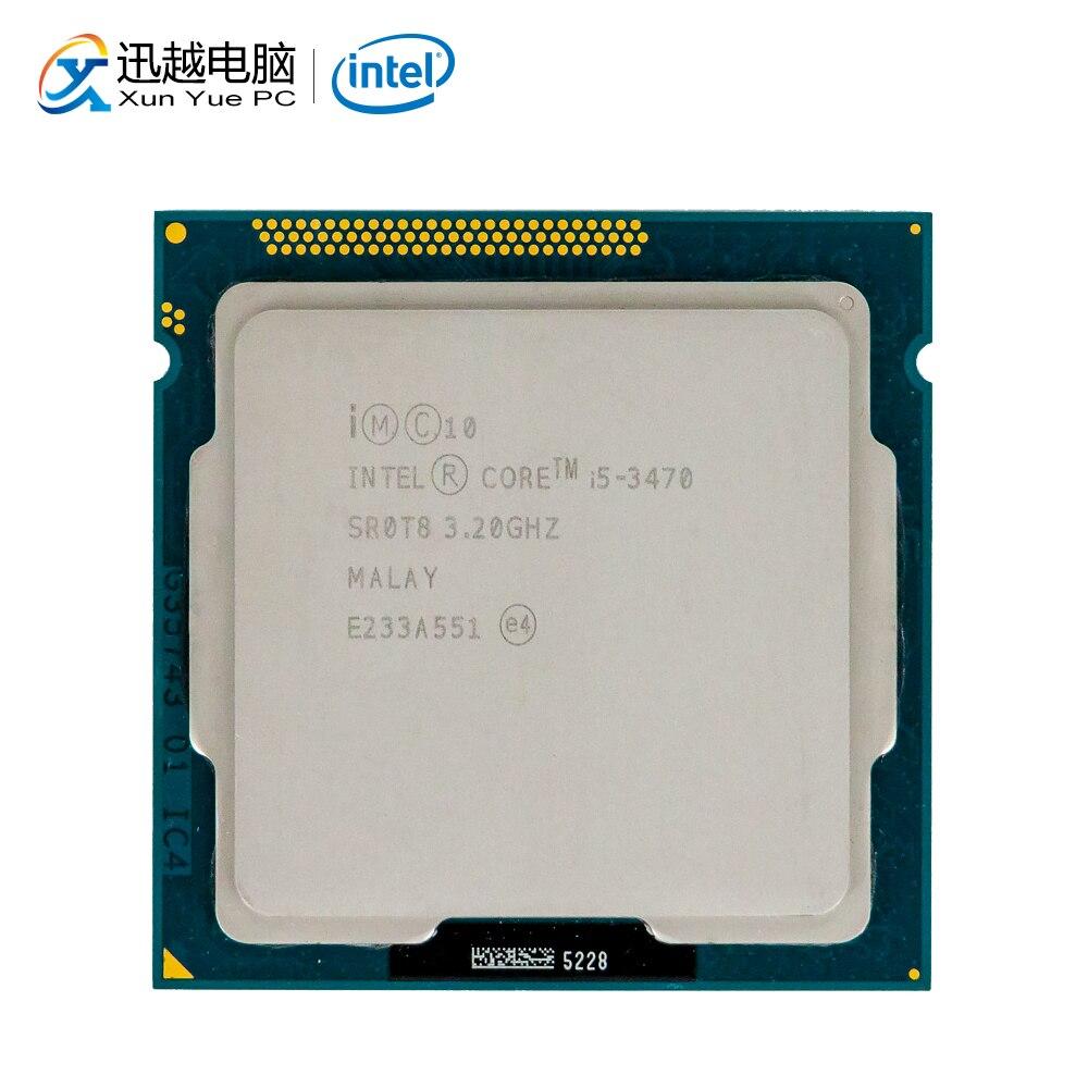 Intel Core I5-3470 Desktop Processor I5 3470 Quad-Core 3.2GHz 6MB L3 Cache LGA 1155 Server Used CPU