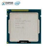 Intel Core i5 3470 Desktop Processor i5 3470 Quad Core 3.2GHz 6MB L3 Cache LGA 1155 Server Used CPU