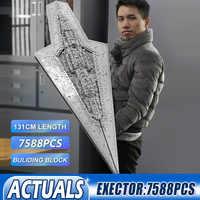 05028 Star Toys Wars Compatible With lepining 10221 Executor Super Star Destroyer Set MOC 15881 Building Blocks Bricks Kids Toys
