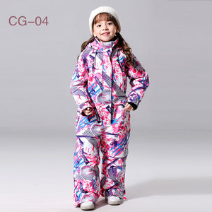 Image 5 - 2019 New Ski Suit For Boys And Girls Winter Children Windproof Waterproof Super Warm Snow Skiing And Snowboarding Clothes