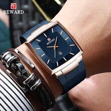 REWARD Fashion Blue Men's Watches 2021 New Top Luxury Brand Watch Men Business Waterproof Stainless Steel Quartz Wristwatch