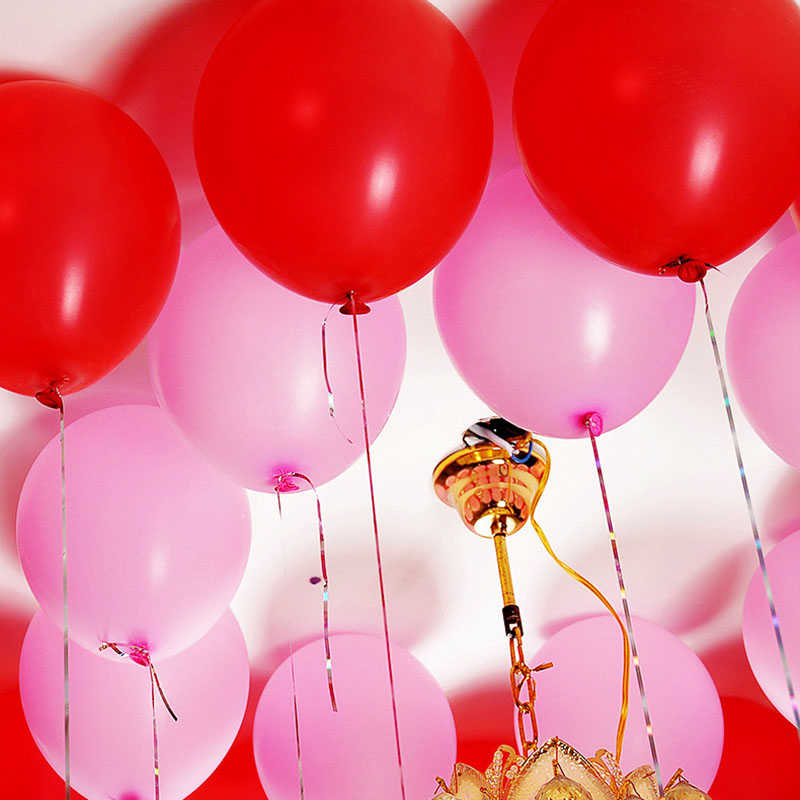 100 個ドットスーパー両面ゴム接着バルーンパーティー結婚式の装飾感謝祭誕生日パーティーの装飾