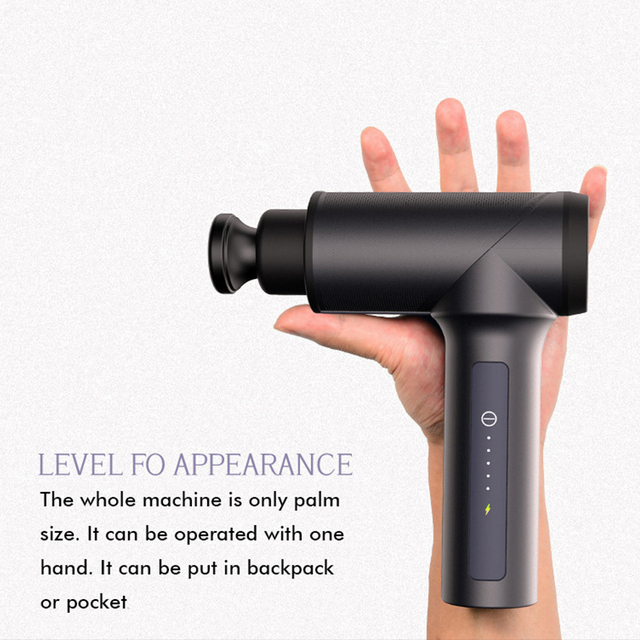 Massage Gun Muscle Massager Muscle Pain Management after Training Exercising dropshipping Body Relaxation Shaping Pain Relief 1