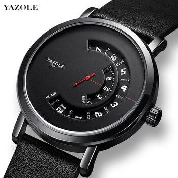YAZOLE New Fashion Wrist Watch For Men Waterproof Hollow Quartz Casual Sport Wristwatch Montre Homme Relogio Masculino - discount item  29% OFF Men's Watches