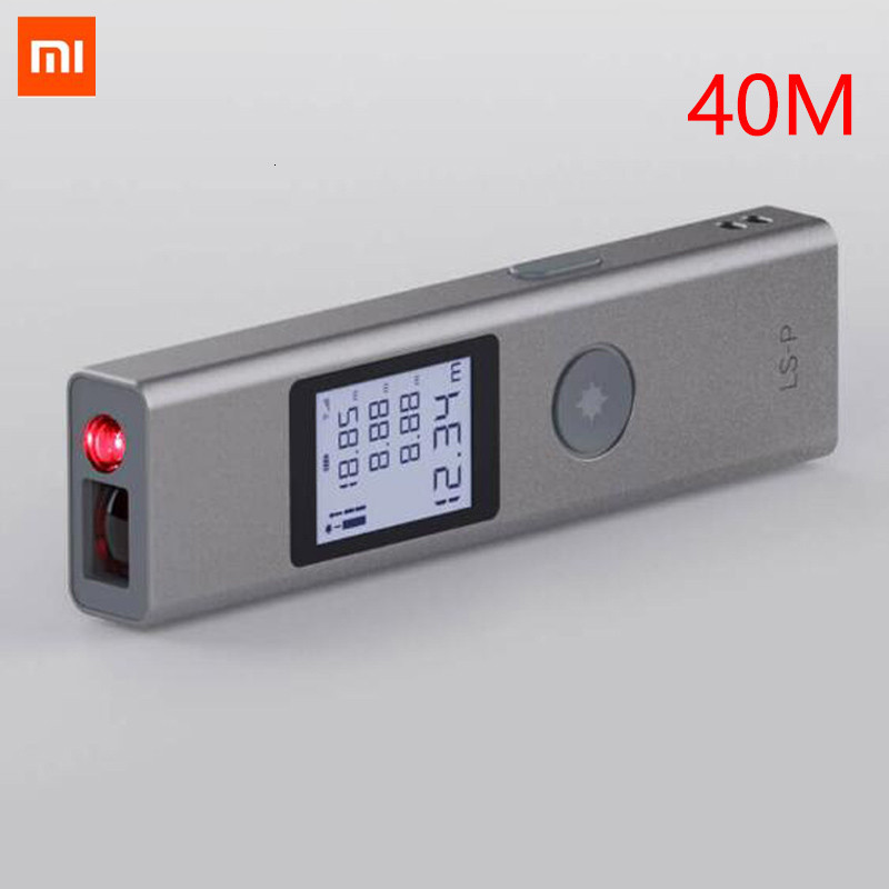 NEW IN STOCK Xiaomi Duka 40m Laser Range Finder LS-P USB Flash Charging Range Finder High Precision Measurement Rangefinder