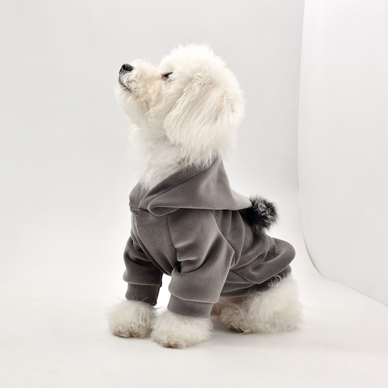 Pet Clothes Dog Winter Style Clothing Autumn And Winter Thick Law Bucket Teddy Bichon Dog Clothes Pet Supplies