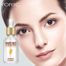 ROREC Natural Organic White Rice face Serum collagen Reduces Wrinkles Dark Spots anti-aging Sun Damage Corrector skin care