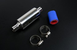Exhaust/Tuned Pipe Muffler Silencer for 1/5 RC HPI ROVAN KM Baja 5B 5T 5SC 5SS Rc Boat Parts