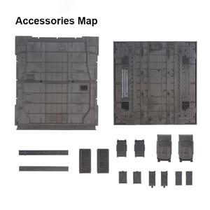Image 2 - 1 zestaw mechaniczna obudowa na łańcuszek gniazdo maszynowe podstawa działania dla HG MG RG Gundam Model 1/100 i 1/144 akcesoria do modeli