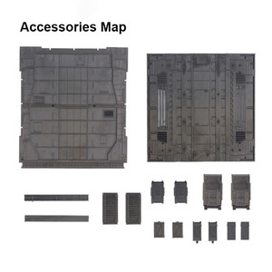 Image 2 - 1set Mechanical Chain Case Machine Nest Action Base for HG MG RG Gundam Model 1/100 and 1/144 Model Accessories