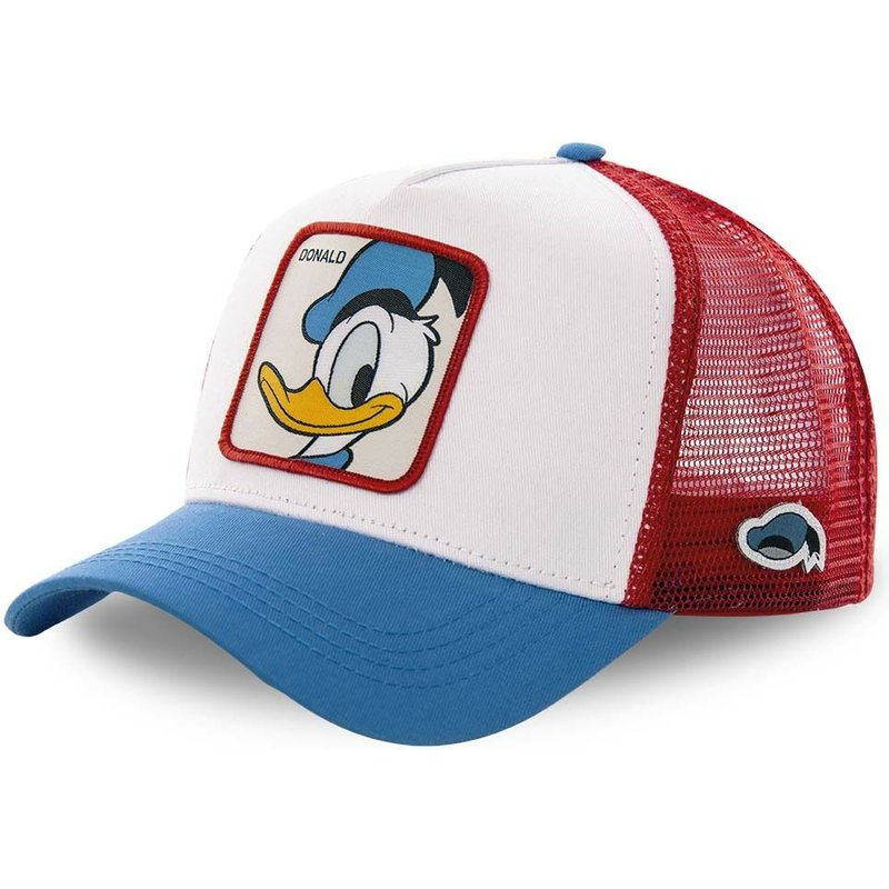 capslab-donald-duck-duc2-disney-white-red-and-blue-trucker-hat