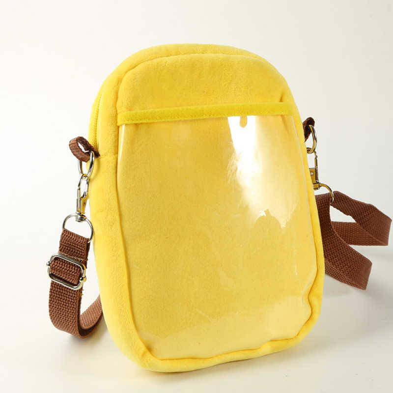 Quente anime bolso monstro bolsa de ombro feminina psyduck charmander pequenos sacos crossbody mensageiro sacos de telefone