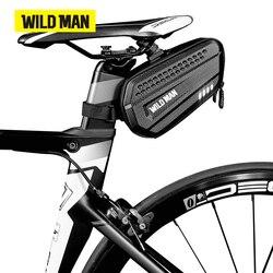 WILD MAN torba na rower MTB torba torba na bagażnik wodoodporna torebka podsiodłowa pokrowiec na siodełko pakiet rowerowy górski rower szosowy