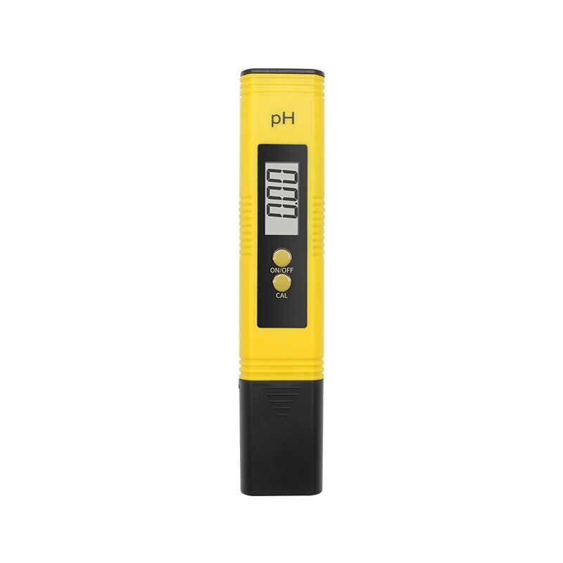 PH 테스터 정확도 0.01 디지털 PH 측정기 물 음식 수족관 수영장 수경법 포켓 크기 PH 테스터 대형 LCD 디스플레이