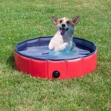 Ванна для собак, водонепроницаемый складной бассейн для собак, кошек, щенков, котят, душ, бассейн, домик, кровать для купания, для мытья, плюшевый 1
