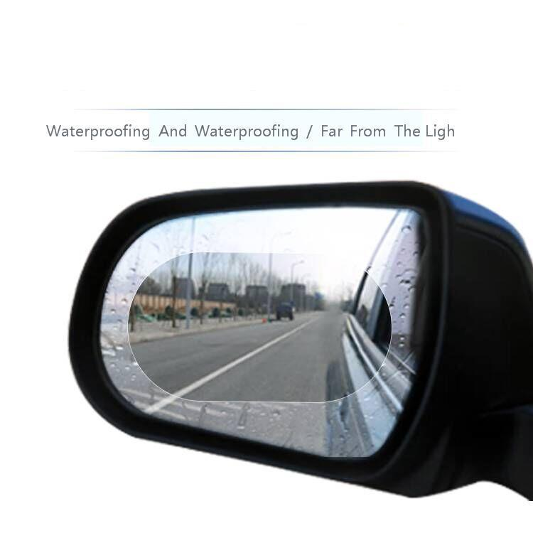 Image 5 - 2Pcs Car Rearview Mirror Waterproof Anti Fog Rain Proof Film Side Window Glass Film Anti rain Car Rearview Mirror Cover Films-in Awnings & Shelters from Automobiles & Motorcycles