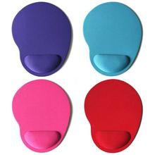 Support Wrist Comfort Mat Solid Color Mouse Pad EVA Wristband Comfortable Mice Mat For Game Computer PC Laptop 1PCS