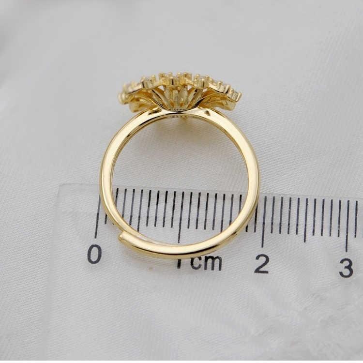 MeiBaPJ Real 925 Anel de Prata Flor Conjunto de Jóias de Moda Pingente de Pérola Natural Brincos De Jóias de Casamento para As Mulheres