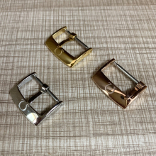 Metal Pin Buckle 16mm 18mm 20mm For Omega Seamaster Watch Accessories Belt Buckle Strap Insurance Buckle Stainless Steel Clasp