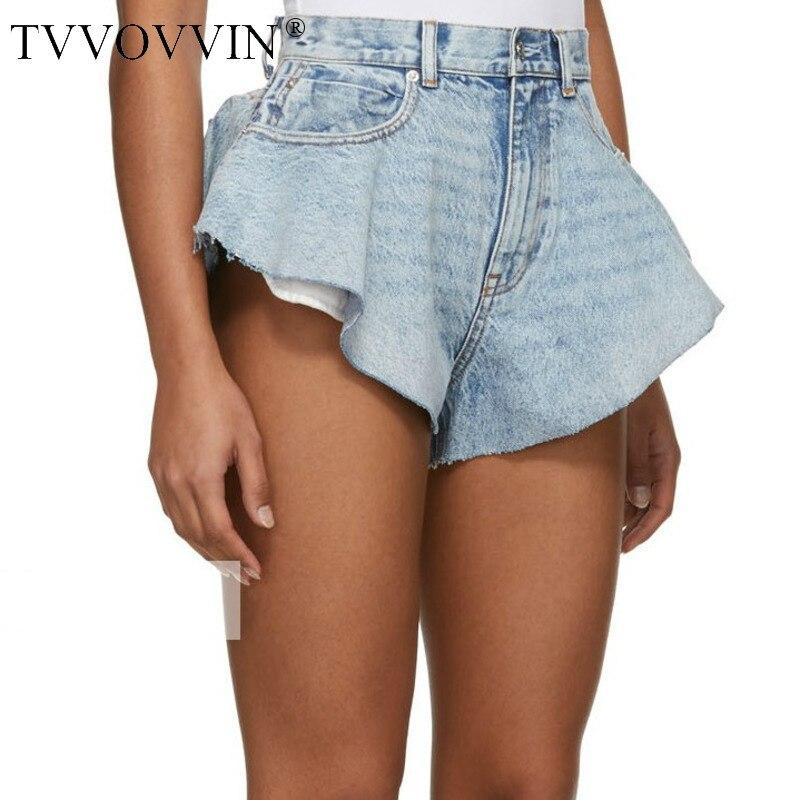 Korea Women Shorts Sexy Blue Short Jeans All Match Casual Womens High Waist Denim Shorts Summer 2020 Sexy Women Clothing 6YEV