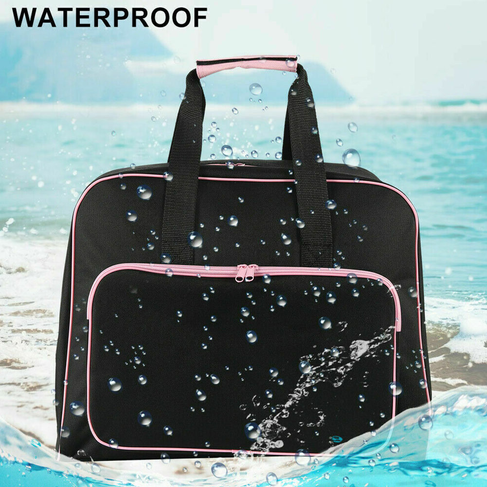 Padded Carry Case Storage Shockproof Scratch Resistant Handheld Durable Craft With Pocket Sewing Machine Bag Zipper For Travel