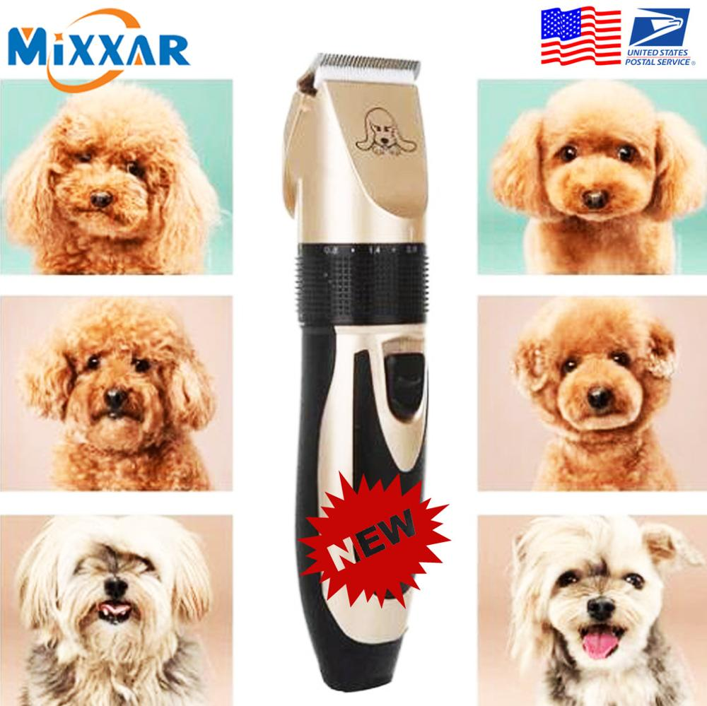 Shaver Pet-Grooming-Tool Animal Hair-Cutter Dog-Trimmer Cat No Dog-Noise-Low-Design Rechargeable