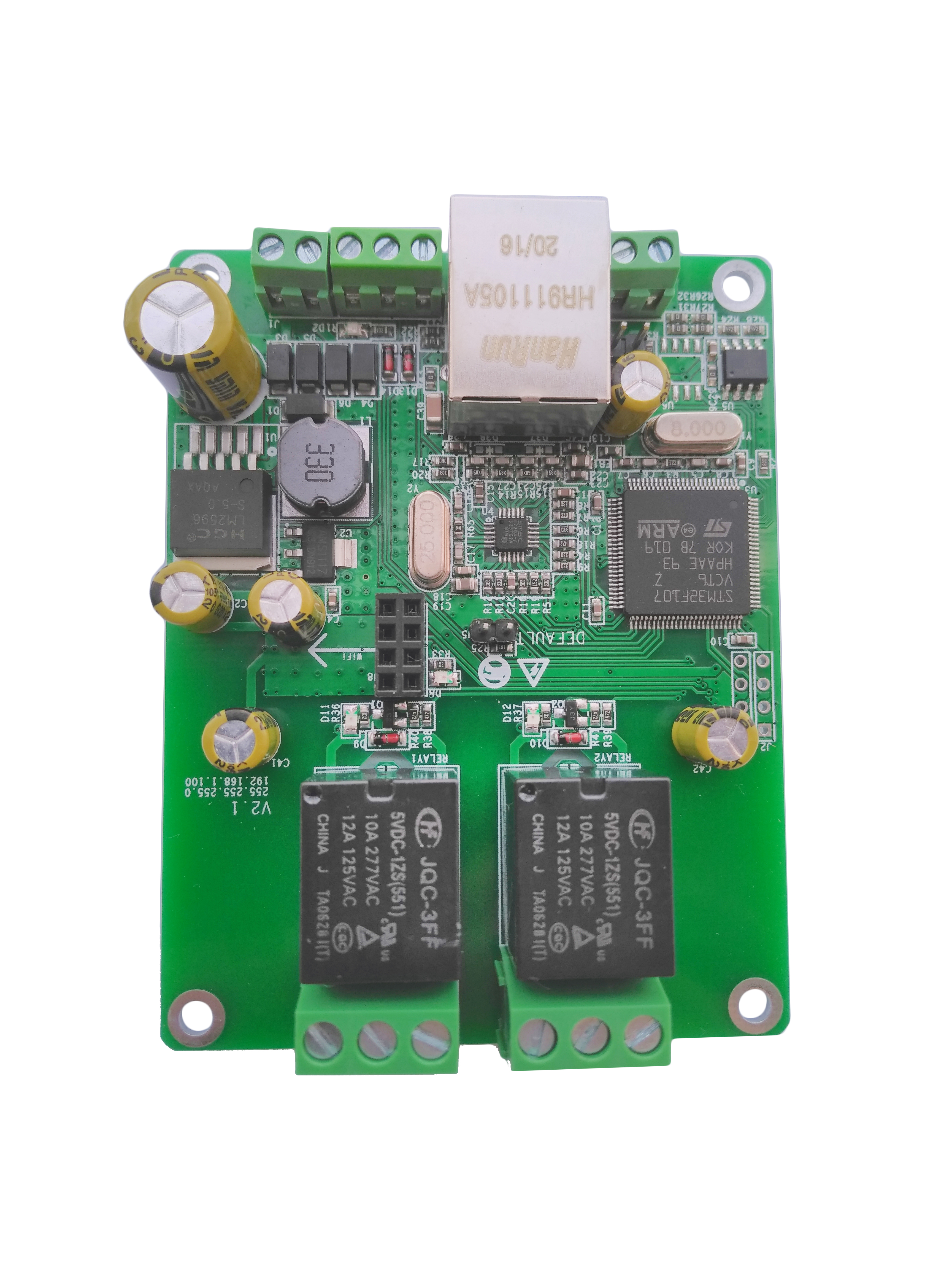 Home assistant Modbus MQTT Wifi Ethernet Relay I/O Module Web Control Http GET RS485 CAN 12v 24v Domoticz Timer