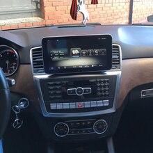 9.33 Android 3G + 32G หน้าจอมัลติมีเดียสเตอริโอจอแสดงผลระบบนำทาง GPS สำหรับ Mercedes Benz ML GL Class 2012 2015