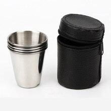 Походная чашка из нержавеющей стали с кронштейном для хранения легкая походная скалолазание Equipemnts портативная кофейная чайная чашка