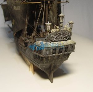 Image 3 - 1 / 96scale Pirates of The Caribbean Black Pearl Simulation Wooden Sail DIY Boat Model Kit Handmade Adult Toy Gift  Home Decor