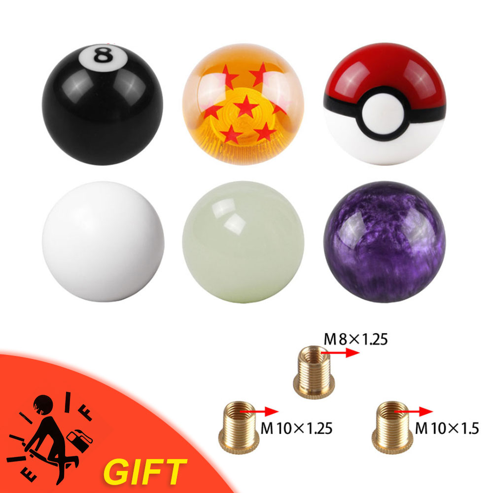 hot sale car Dragon ball Gear Shift Knob Racing Stick Cool Acrylic Shift Knob for universal car(China)