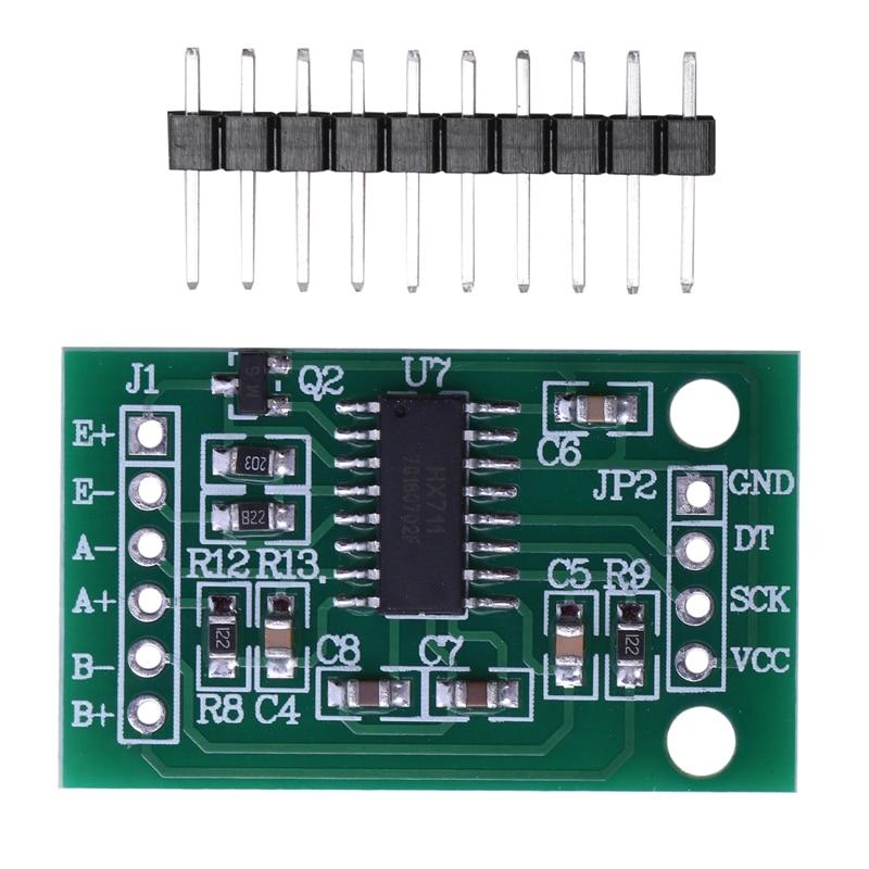 5 Pcs HX711 Weighing Sensor Dual-Channel 24 Bit Precision A/D Module Pressure Sensor