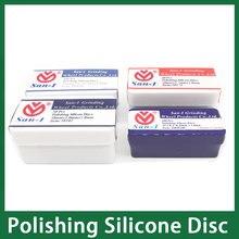 цена на 1Box Original Dental Lab Silicone Polishing Wheels Discs