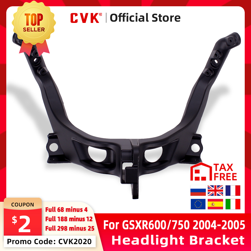 CVK Headlight Bracket Motorcycle Upper Stay Fairing For SUZUKI GSXR600 GSXR750 GSXR GSX-R 600 750 K4 2004 2005 GSXR1000 K3 2003