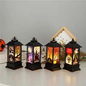 Hot Sale Halloween New Lantern Pumpkin Light LED Night Light Desktop Decoration Home Bar KTV Halloween Gifts halloween cartoon doll pumpkin witch cat party ideal decoration for club bar shop home showcase bar table shelf holiday decor