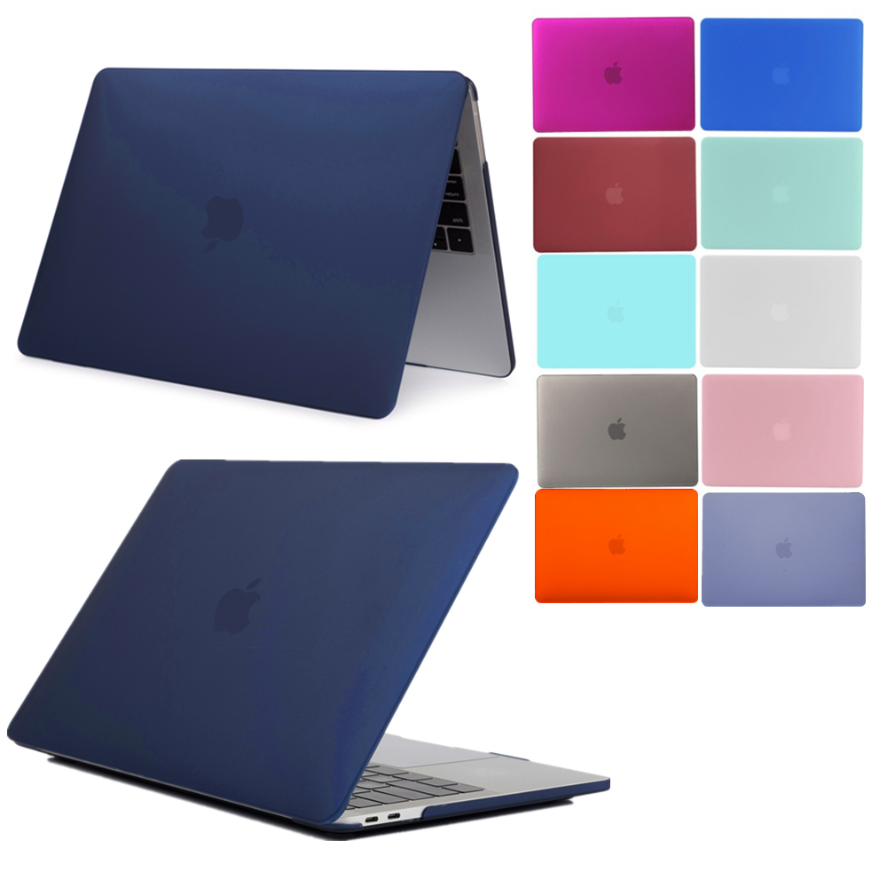 Laptop Case For MacBook Air 13.3 (A1466 A1369) Air 11.6 (A1370 A1465) Frosted Scratch Resistance Notebook Protective Shell Cover
