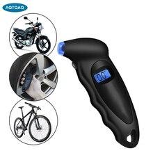 150 Psi Digitale Auto Band Band Luchtdrukmeter Meter Lcd Display Manometer Barometers Tester Voor Auto Vrachtwagen Motorcycle Bike