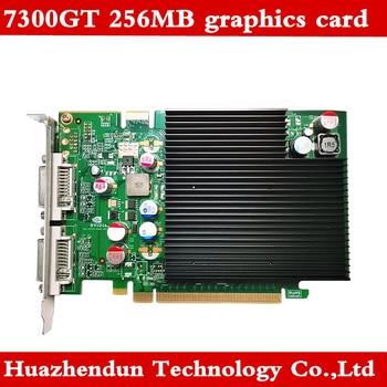 New original 7300GT graphics card 256MB medical dedicated video card PCIE dual DVI 1pcs Free shipping