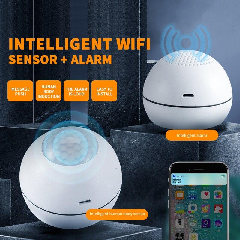 Смарт-датчик движения с поддержкой Wi-Fi, работает с приложением Alexa Google Home