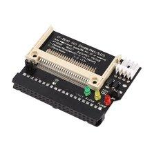Compact Flash CF do 3 5 kobieta 40 Pin IDE rozruchowego dysku karta adaptera konwertera standardowy interfejs IDE prawda-tryb IDE tanie tanio MOTOWOLF CN (pochodzenie) Other Drut Miedziany 3 3V or 5V Audio Video