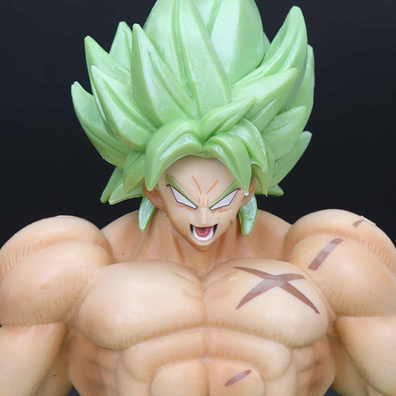 Estilo Dragon Ball Z Son goku Estatueta Broly Figura SS FULL POWER dragonball z Figuras Collectible Toy Modelo