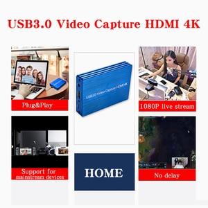 Image 5 - 4K Hdmi Naar Usb 3.0 Video Capture Card Dongle 1080P 60fps Hd Video Recorder Grabber Voor Obs Vastleggen game Game Capture Card Live