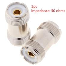 1 шт. SO-239 UHF Женский к женскому RF коаксиальный кабель адаптер Разъем для PL-259 высокое качество