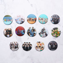 Year-End Clearances KPOP Bangtan Boys Pins Album Brooch Badge Accessories For Clothes Hat Backpack Decoration(China)
