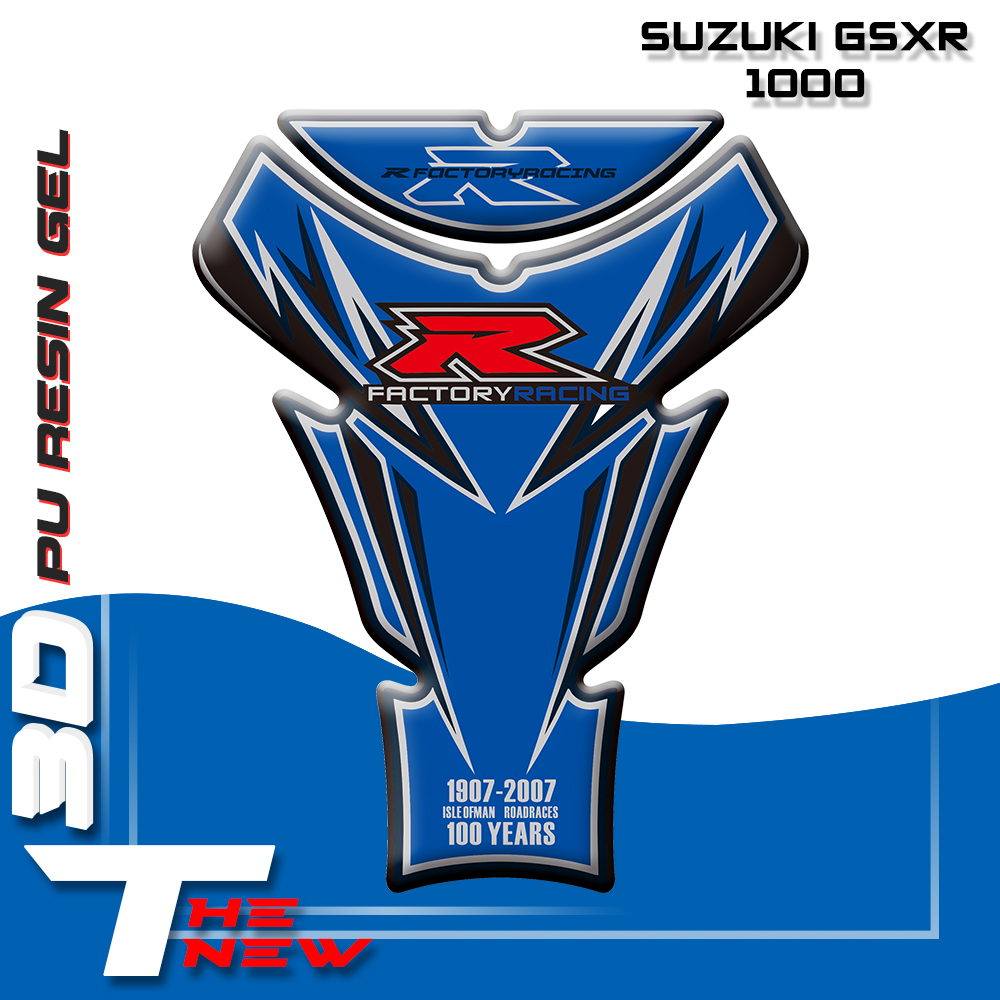 Motorcycle Gas Cap Fuel Tank Pad <font><b>Sticker</b></font> Protection For <font><b>Suzuki</b></font> GSXR 1000 2007 image