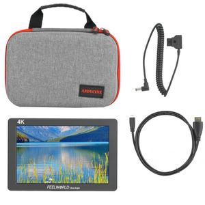 "Image 5 - 7 ""4 K monitorowanie Feelworld P7 ultra hd jasny 2200nit aparat ekran wideo HDMI 1920x1200 monitor dslr"