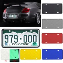 Silicone Universal License Plate Frame Waterproof Antirust Anti-shake Cover Preventing Scratch Protector