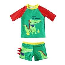 #57 Summer Toddler Kids Baby Boy Swimwear Set Cartoon Patchwork Swimwear Swimsuit Summer Outfits Sets Maillot Bain Garcon