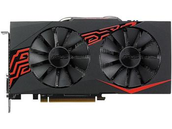 USED,ASUS  RX 570 4G graphics cards 7000MHz GDDR5 256bits HDMI+DP  PCI-X16